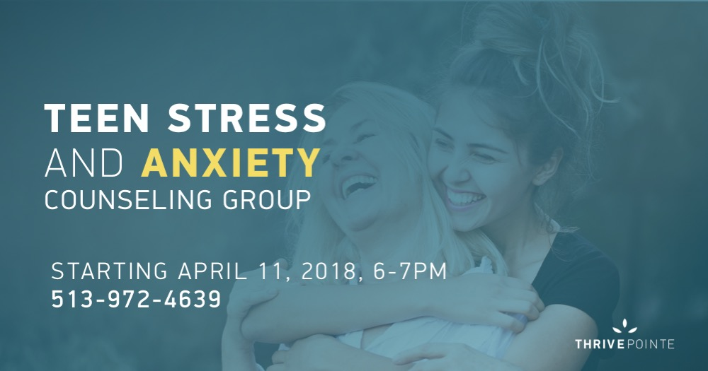 Teen Stress Counseling Group banner